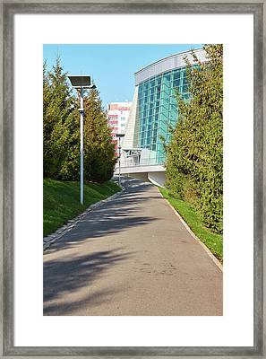 Congress Hall In Ufa Framed Print