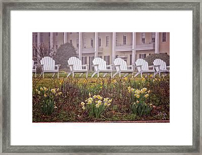 Congress Hall Spring Framed Print