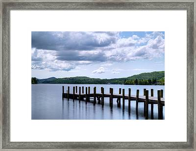 Coniston Water - Lake District Framed Print