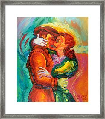 Conjoined Framed Print by Ekaterina  Prozheyko