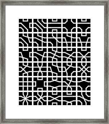 Connect - 24 Framed Print