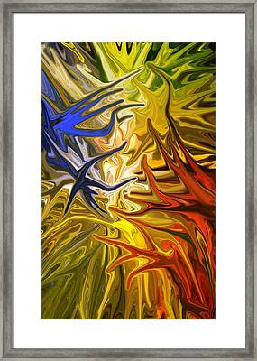 Connect Framed Print by Chris Butler