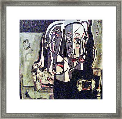 Connected Framed Print by DC Campbell