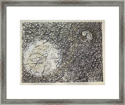 Connected Framed Print by Pax Bobrow
