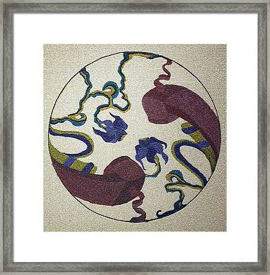 Connected Framed Print by Tammera Malicki-Wong