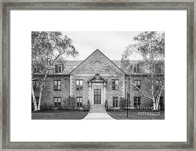 Connecticut College Blaustein Center Framed Print
