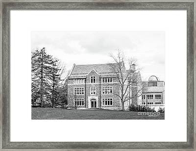 Connecticut College New London Hall Framed Print