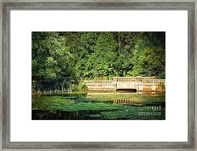 Connecticut Scenic Framed Print by HD Connelly