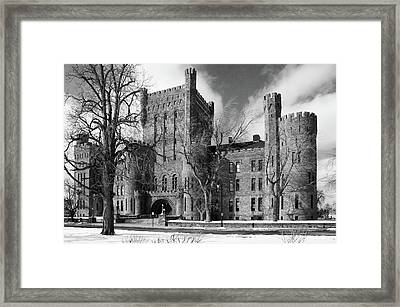 Framed Print featuring the photograph Connecticut Street Armory 3997b by Guy Whiteley
