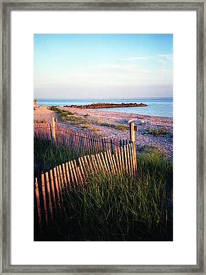 Framed Print featuring the photograph Connecticut Summer by John Scates