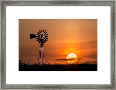 Connecticut Summer Sun Framed Print by Bill Wakeley