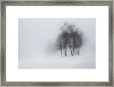 Connecticut Winter Dream Framed Print by Bill Wakeley