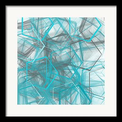 Polygon Framed Prints