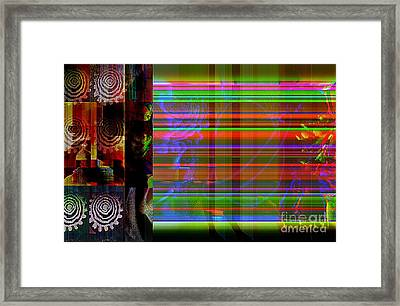 Connecting To Another World Framed Print by Fania Simon