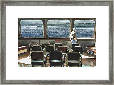 Connection Framed Print by Perry Woodfin