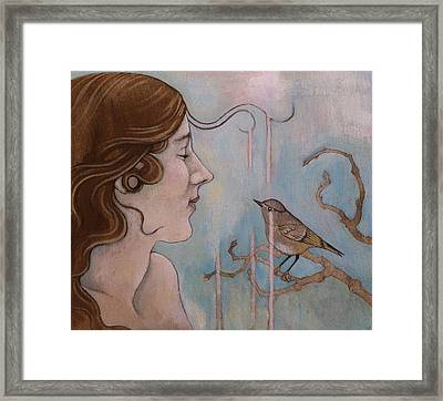 Connection Framed Print by Sheri Howe