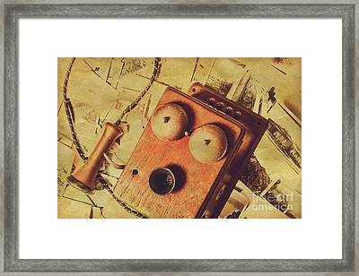 Connection To The Past Framed Print