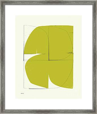Connections 14 Framed Print by Jazzberry Blue