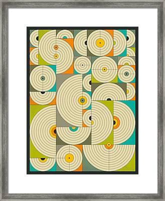 Connections 5 Framed Print