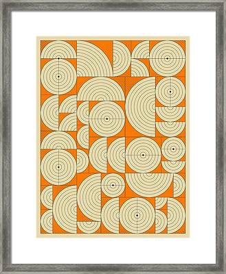 Connections 6 Framed Print