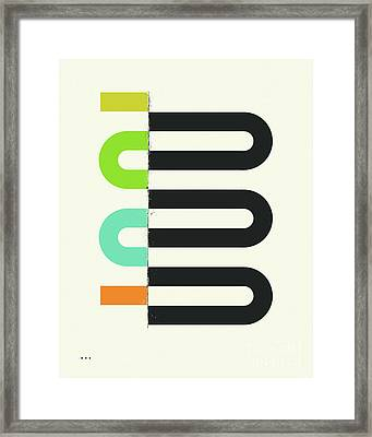 Connections #8 Framed Print