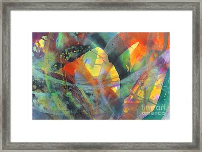 Connections Framed Print by Lucy Arnold