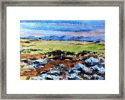 Connemara Golf, Ballyconneely, Galway Framed Print