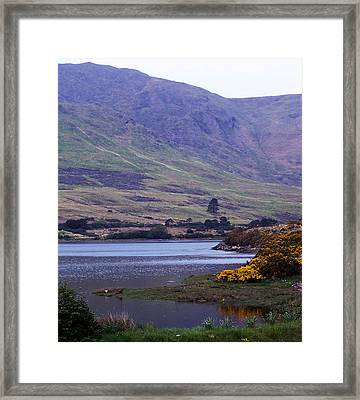 Connemara Leenane Ireland Framed Print