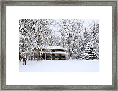 Conner Toll House # 1 Framed Print by Tom and Pat Cory