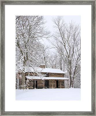 Conner Toll House # 2 Framed Print by Tom and Pat Cory