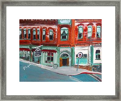 Connor Hotel In Jerome Framed Print