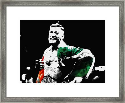 Conor Mcgregor Framed Print by Brian Reaves