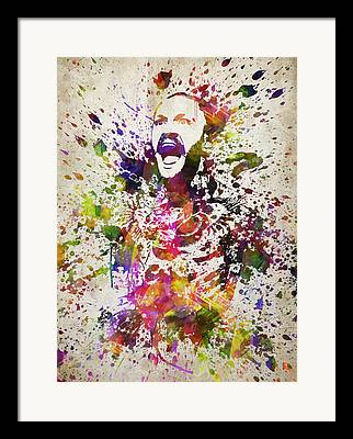 Ultimate Fighting Framed Prints