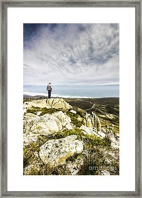 Conquering Trial Harbour Framed Print