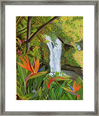 Conquest Of Paradise Framed Print