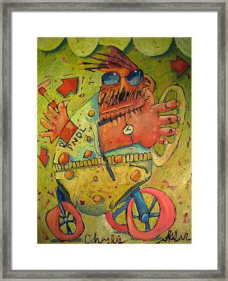 Conscientious Perambulator Framed Print by Charlie Spear