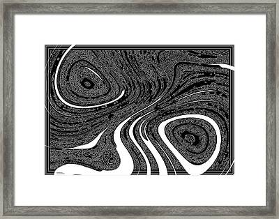 Conscientious Thinker Framed Print