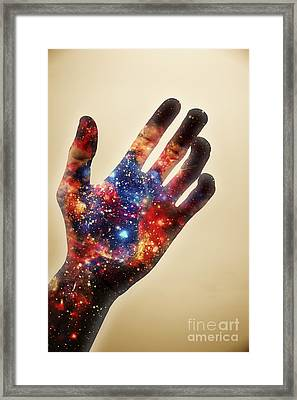 Conscious Creator In Awakening Framed Print by Jorgo Photography - Wall Art Gallery