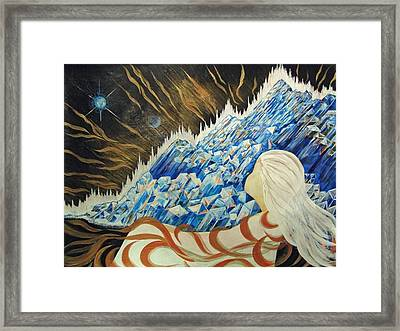 Conscious Dream Framed Print by Pam Ellis
