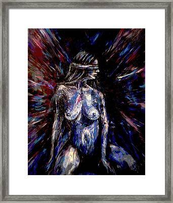 Conscious Entrustment Framed Print by Zoe Oakley
