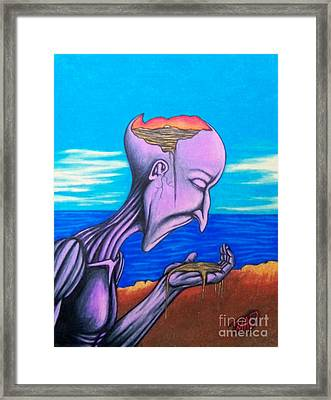 Conscious Thought Framed Print