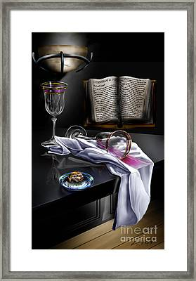 Consecrated Framed Print by Reggie Duffie