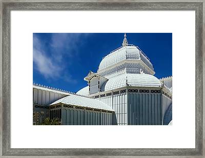 Conservatory Of Flowers Detail Framed Print