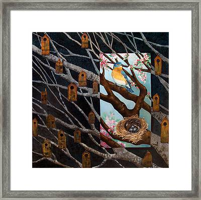Consider Framed Print by Teresa Carter