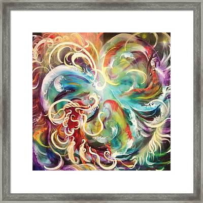 Consider The Heart Framed Print by Amy Green