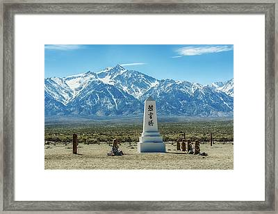 Consoling The Soul Framed Print