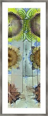 Consonate Impression Flower  Id 16164-232301-05471 Framed Print by S Lurk