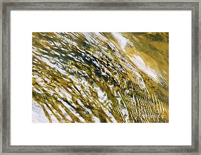 Constant Change Framed Print by Mike Fisher