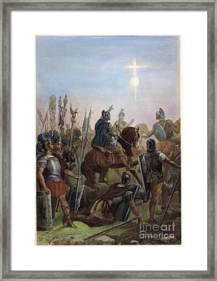 Constantine Conversion Framed Print