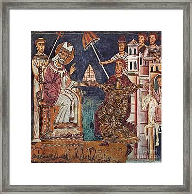 Constantine I (c280-337) Framed Print by Granger